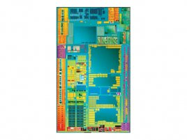 Intel Atom E600 die