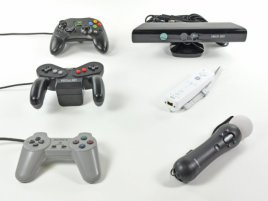 Microsoft Xbox 360 Kinect vs. Sony Playstation Move vs. Nintendo Wiimote