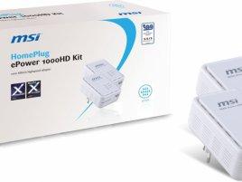 MSI HomePlug ePower 1000HD kit