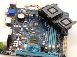 Gigabyte GA-E350N-USB3 - sundané chlazení
