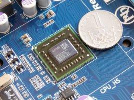 "AMD E-350 ""Zacate"" (AMD ""Fusion"" APU) s korunou na Gigabyte GA-E350N-USB3"