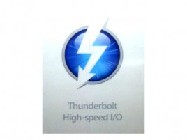 Thunderbolt logo (fotografie prospektu)