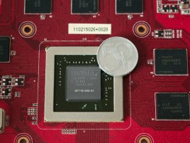 Gainward GeForce GTX 550 Ti Golden Sample: detailGPU