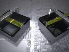 Planar vs. tri-gate transistor