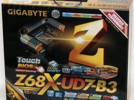 Gigabyte GA-Z68X-UD7-B3: krabice