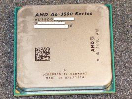 "AMD A6-3500 Triple-Core ""Llano"""