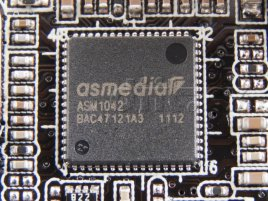 ASUS F1A75-V PRO: ASMedia ASM1042