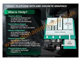 AMD Trinity Virgo platform