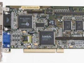 VGA Matrox Millennium PCI