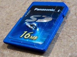 Panasonic SD karta chráněná proti kopírování