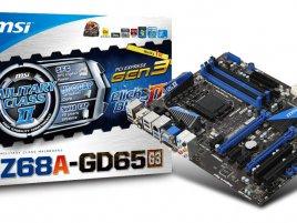 MSI Z68A-GD65 (B3)