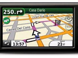 Garmin-Asus nüvifone G60 - režim navigace