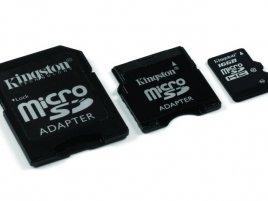 Kongston microSDHC 16GB Class10 s adptéry