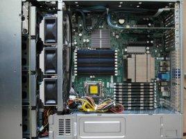 SuperMicro X8DTN+ -F v case 2U SuperChassis 826A-R1200LPB