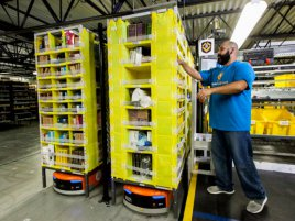 Amazon Kiva Robots