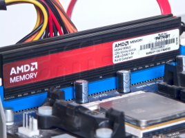 AMD Memory - Entertainment Edition (DDR3-1600) - štítek