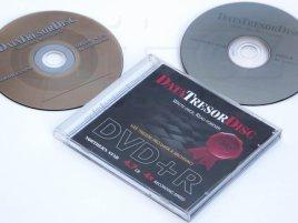 Data Tresor Disc - médium s potiskem, vylisovaným potiskem a krabička