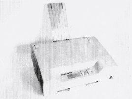 Epson LX-100 se vytiskla