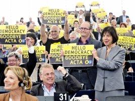 Hello democracy, goodbye ACTA