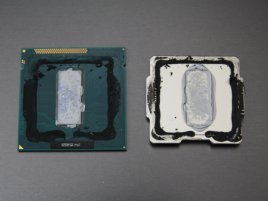 Intel Ivy Bridge, sejmutý heatspreader
