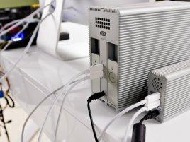 Thunderbolt, připojení HDD