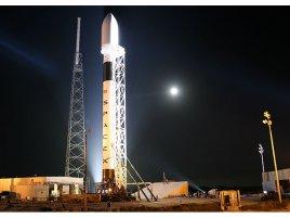 SpaceX Flacon 9 při druhém startu