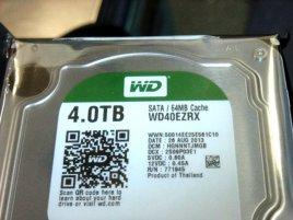 4TB WD Green