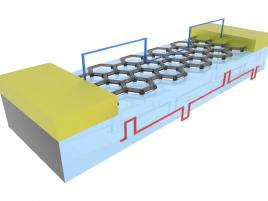 Konstrukce z grafenových nanovláken