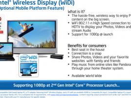 Intel WiDi
