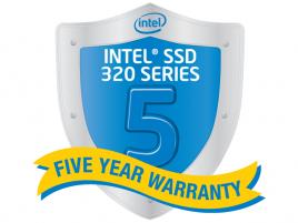 Intel SSD 320, záruka 5 let