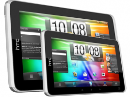 HTC tablet 7″ a 10″ ilustrační