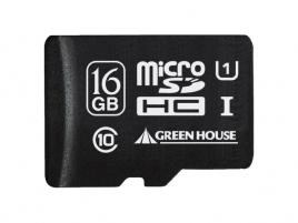 16GB microSDHC UHS-I Green House