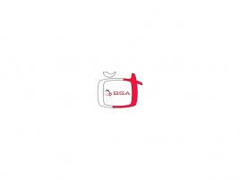 Česká televize logo + BSA logo