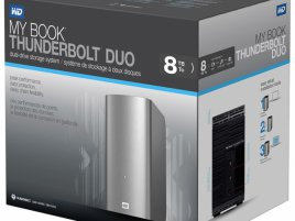 8TB WD My Book Thunderbolt Duo