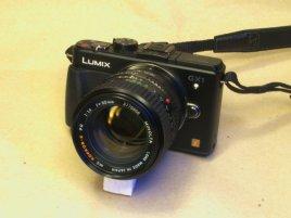 Panasonic GX1 + Minolta Rokkor-X MC 50/1.4