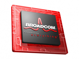 Broadcom chip logo 2013