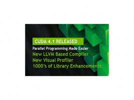Nvidia CUDA 4.1 logo