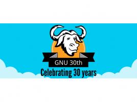 GNU 30 let