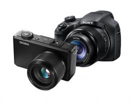 Sigma DP3M + Sony HX300