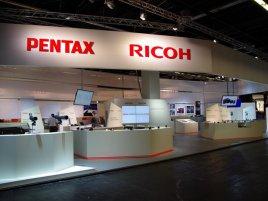 Pentax Ricoh Photokina 2012 stánek