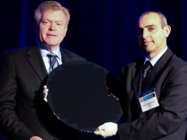 Intel 450mm wafer