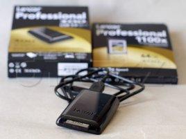 Lexar XQD + USB 3.0 čtečka