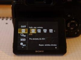 Sony HX300 LCD