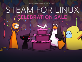 Valve Steam for Linux slevy