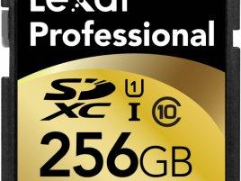 256GB SDXC UHS-I Lexar 400x_