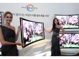 Samsung oled zakřivená