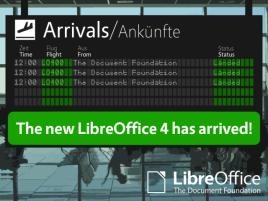 LibreOffice 4.0 logo