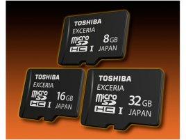 Toshiba Exceria microSDHC UH-I