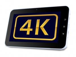 4k UHD tablet