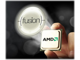 AMD Fusion APU a logo
